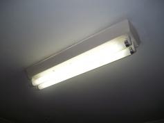 Fluorescentes de 20 W.