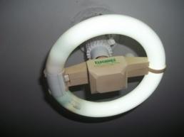 Luminária Taschibra, para Lâmpada Circular 22 Watts, T9.