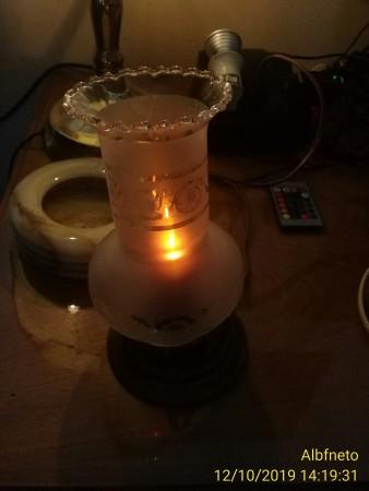 Luminária Artesanal.