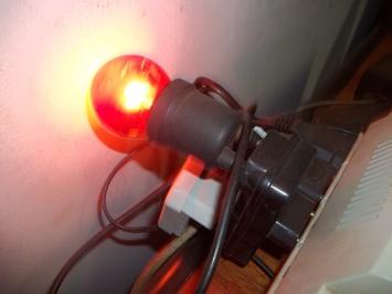 lâmpada de controle