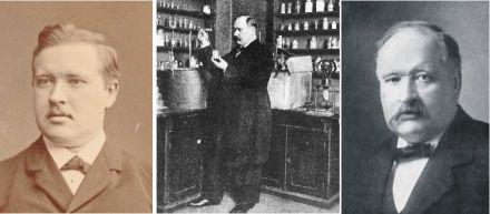 O Químico Sueco Svante Arrhenius, em seu Laboratório.