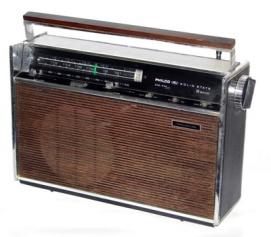 Rádio Philco Transglobe B-481