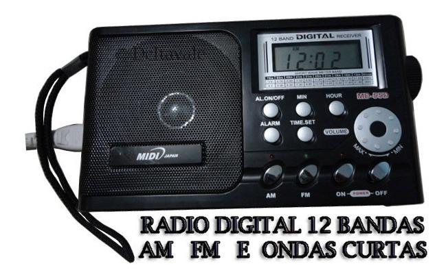Rádio MIDI, MD-55D, Japão.