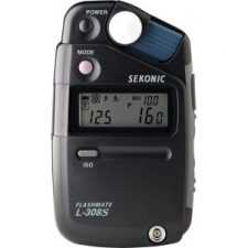 Moderno Fotômetro Digital Sekonic Flashmate L-308S.